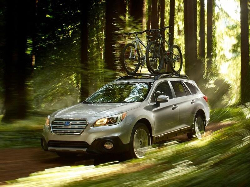 Новый Subaru Outback - Subaru Outback 2015 Прозрачный намек