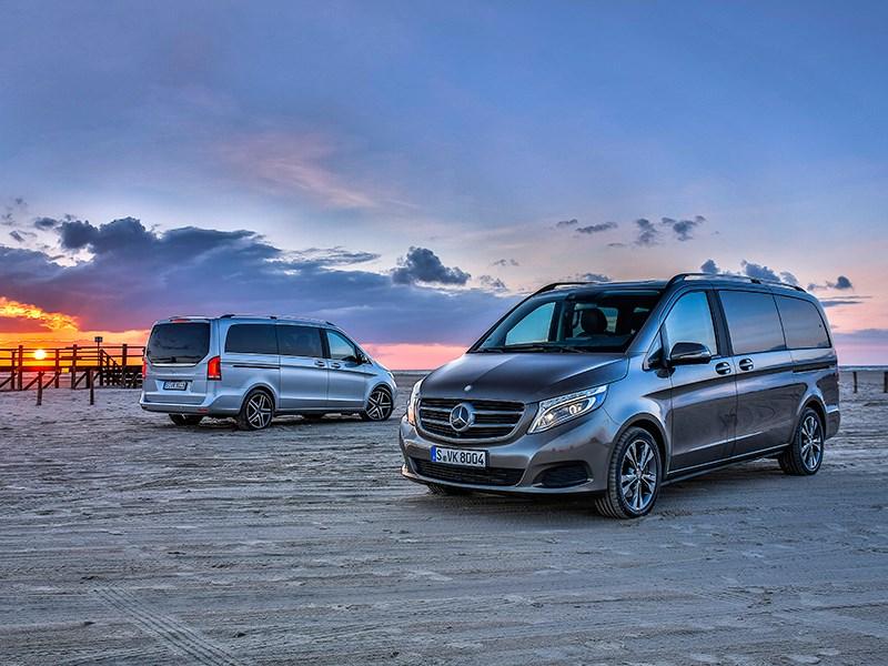Mercedes-Benz V-Class - перебежчик: mercedes-benz v-klasse 2014