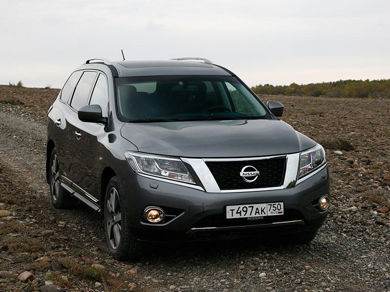 Nissan Pathfinder 2012 Перерасчет маршрута