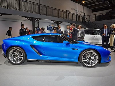 Lamborghini готовит 900-сильную силовую установку для купе Asterion