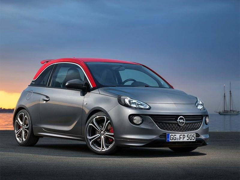 Новый Opel Adam - Opel Adam S 2014 Фитнес