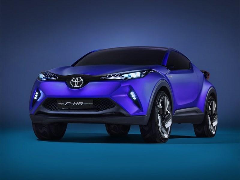 Новый Toyota C-HR - Toyota CH-R concept 2014 Маленький ниндзя