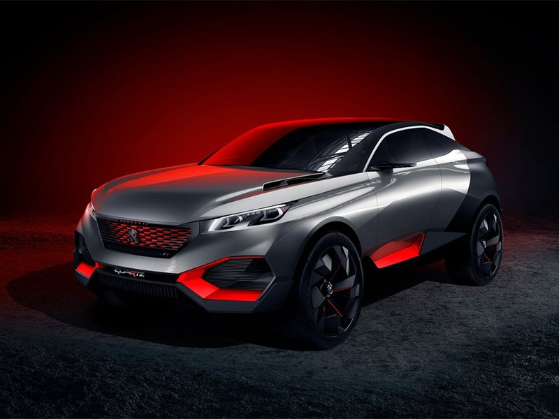 Peugeot Quartz Concept 2014 основной вид