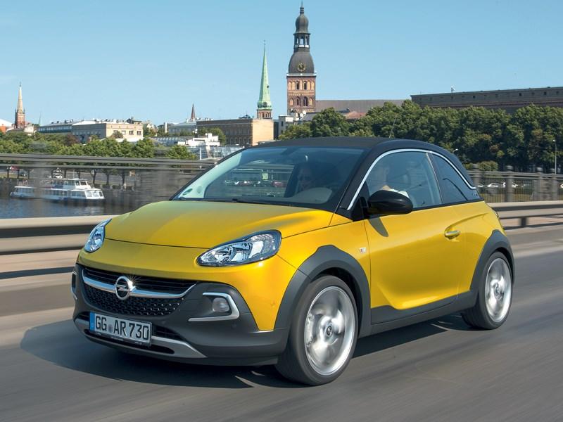 Opel Adam Rocks - opel adam rocks 2014 основатель класса