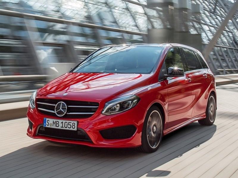 Новый Mercedes-Benz B-Class - Mercedes-Benz B-Klasse 2015 Выбирай на вкус