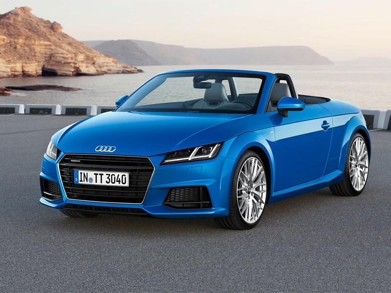 Audi TT Roadster 2015 Сама собранность