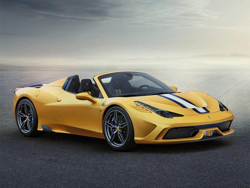 Новый Ferrari 458 Speciale - Ferrari 458 Speciale A 2014 С открытым забралом
