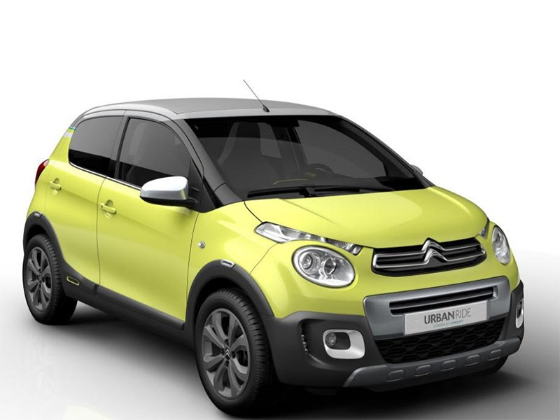 Новый Citroen C1 Urban Ride - Citroen С1 Urban Ride concept 2014 Голосуй!