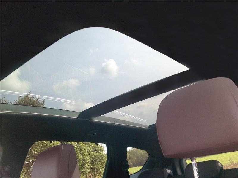 Hyundai Santa Fe 2019 панорамная крыша