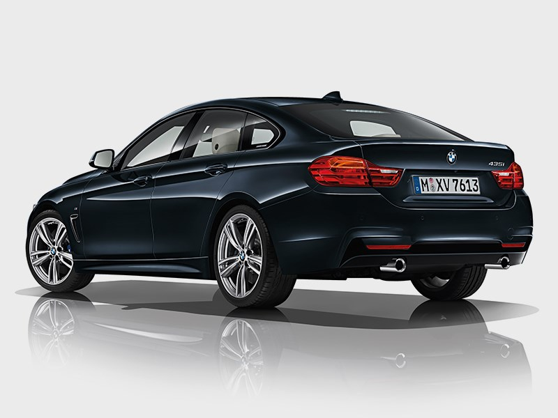 BMW 4 Series Gran Coupe 2014 вид сбоку фото 6