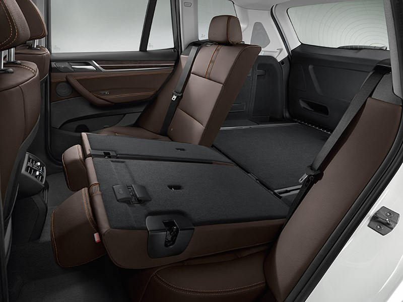 BMW X3 2014 интерьер фото 4