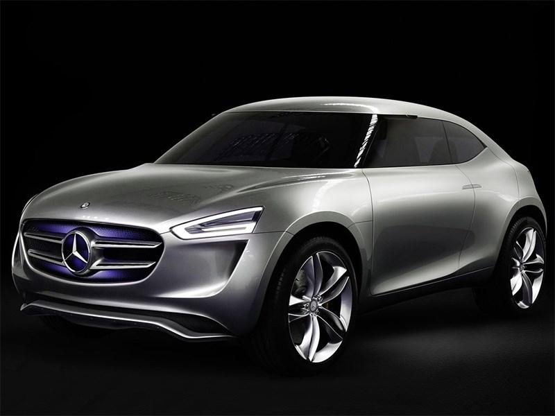 Новый Mercedes-Benz G-Code - Mercedes-Benz G-Code concept 2014 Мобильная лаборатория