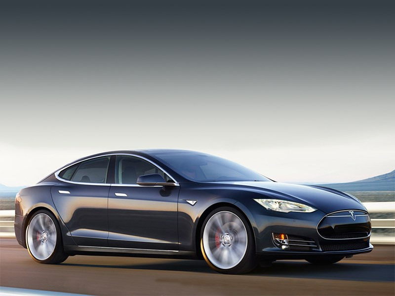 Tesla Model S P85D 2014 Электрический скат