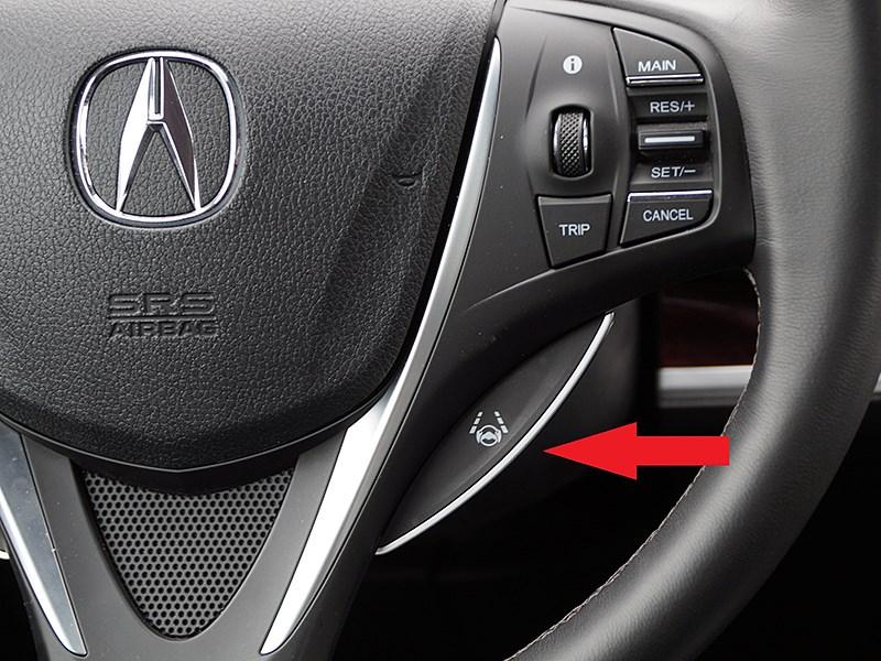 Acura TLX 2015 кнопки управления