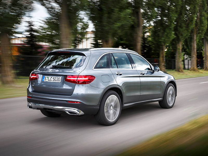 Mercedes-Benz GLC 2016 вид сзади