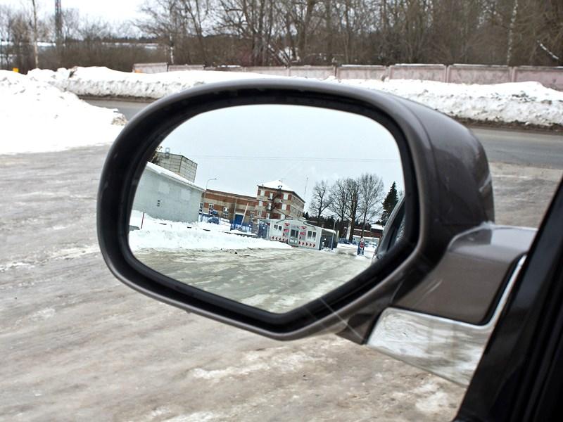 Cadillac Escalade 2009 боковое зеркало
