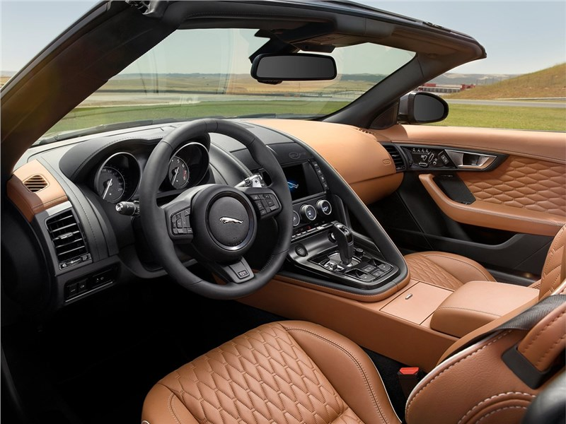Jaguar F-Type SVR 2016 салон