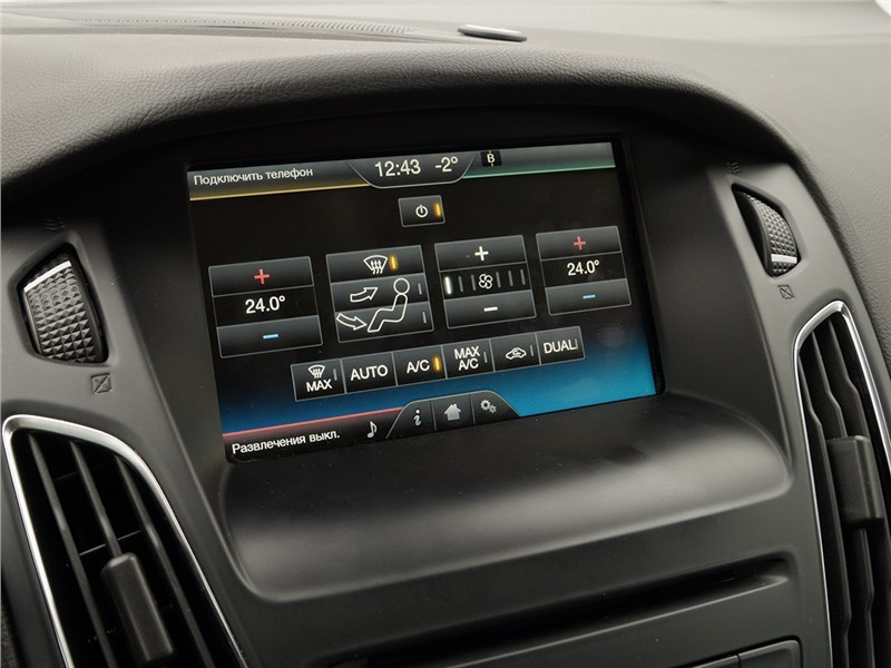 Ford Focus 2014 монитор