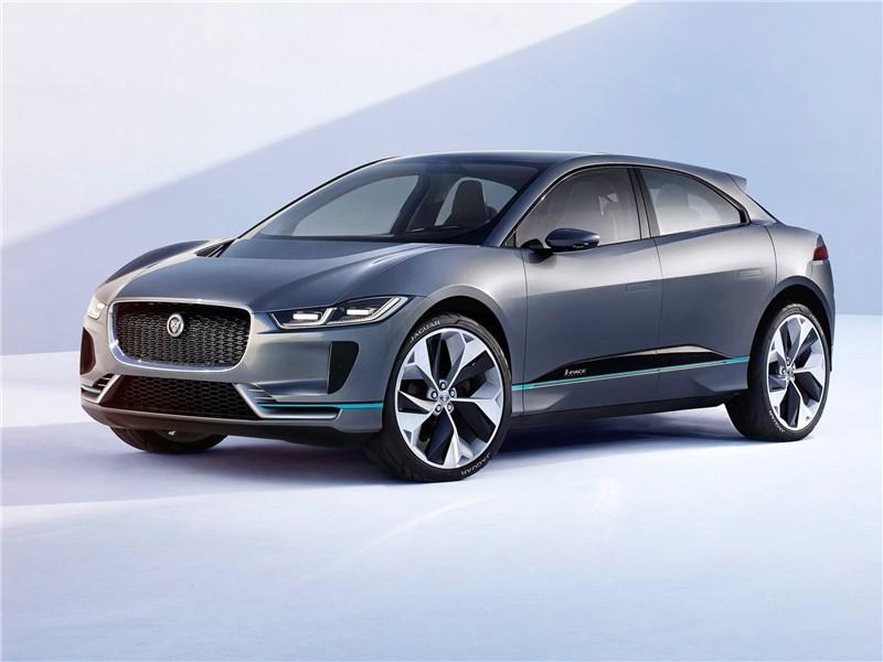 Jaguar I-Pace Concept 2016 Электрическая кошка