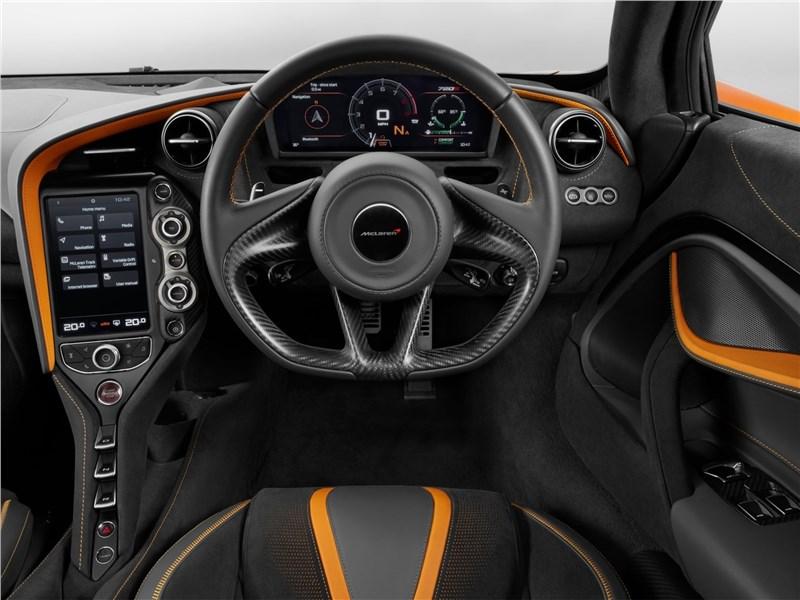 McLaren 720S 2018 салон