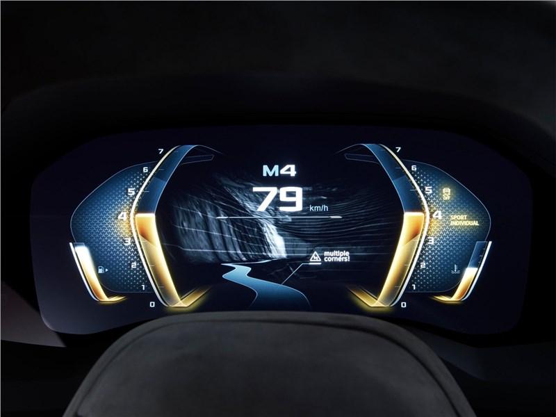 BMW 8-Series Concept 2017 приборная панель