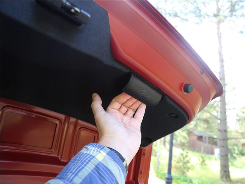 Kia Rio 2017 дверь багажника