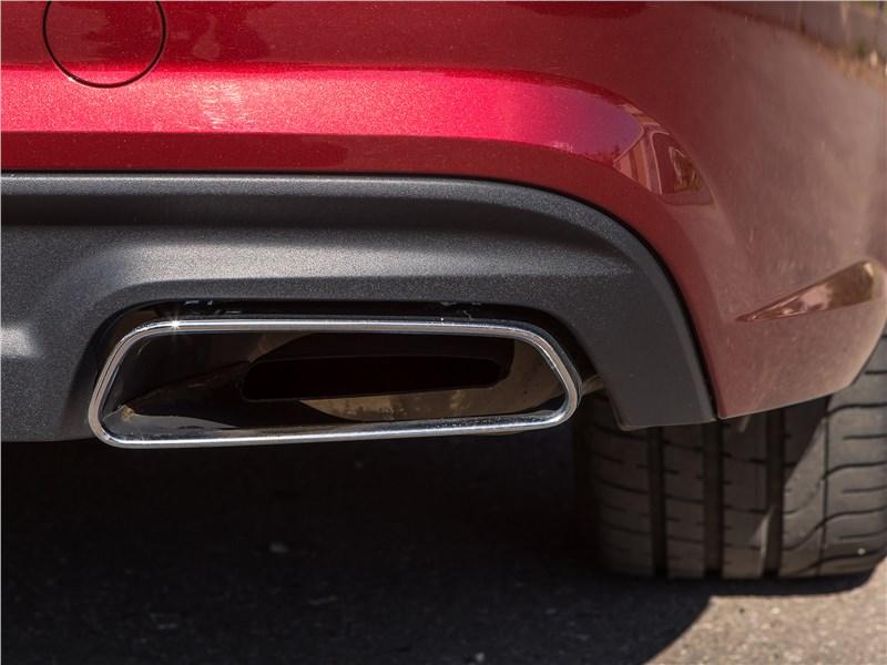 Audi A6 2015 выхлопная труба