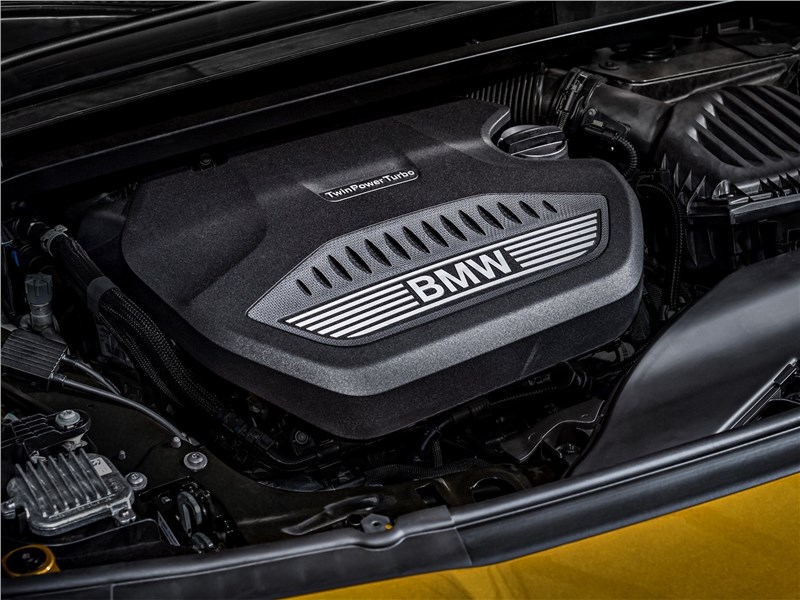 BMW X2 2019 двигатель