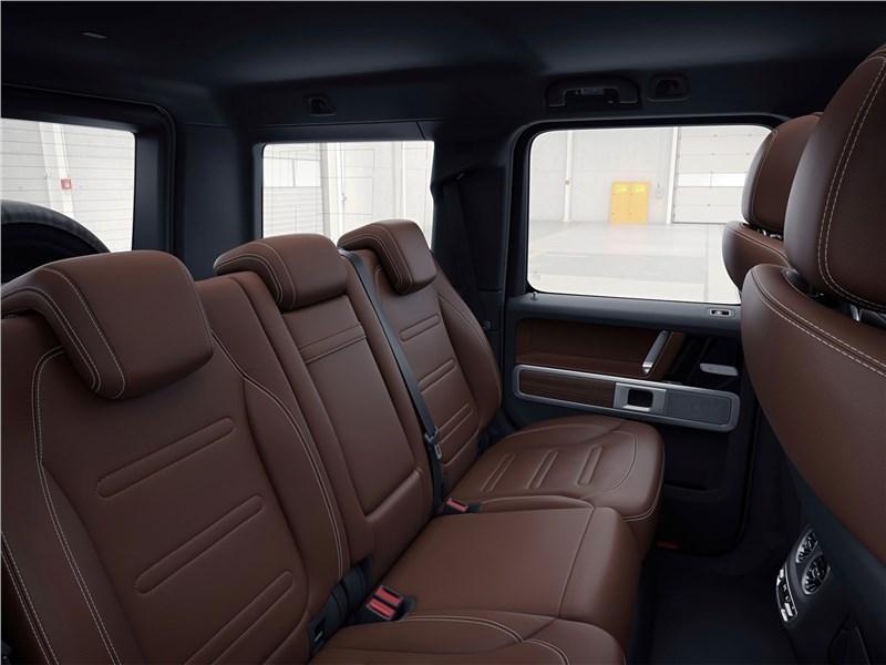 Mercedes-Benz G-Class 2019 задний диван