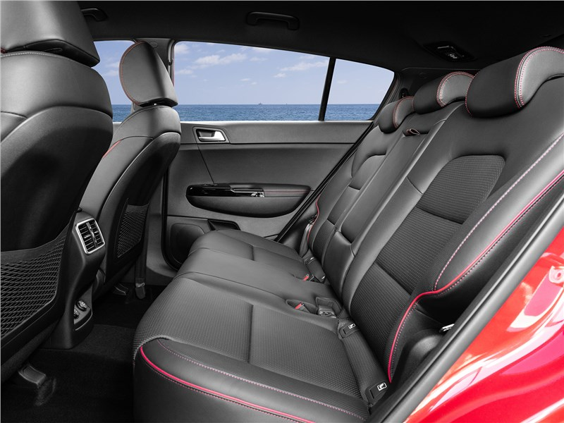 Kia Sportage GT Line 2019 задний диван