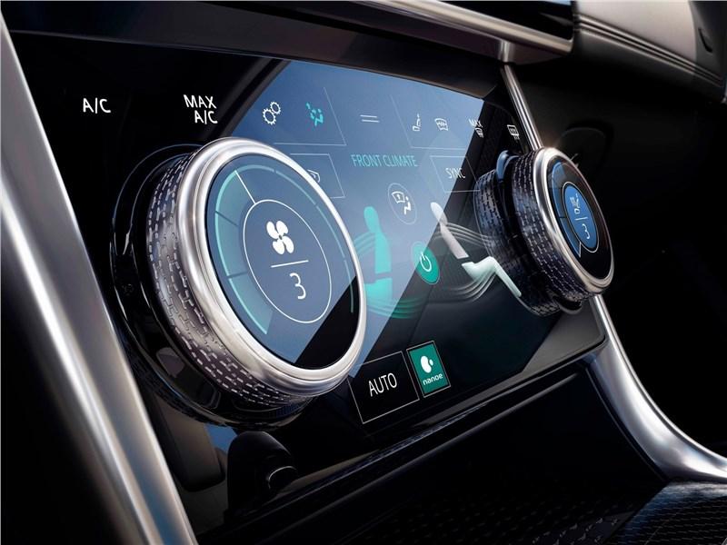 Jaguar XE 2020 управление климатом