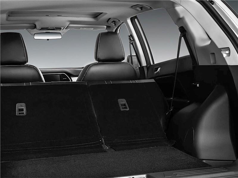 Lifan X70 2017 багажное отделение