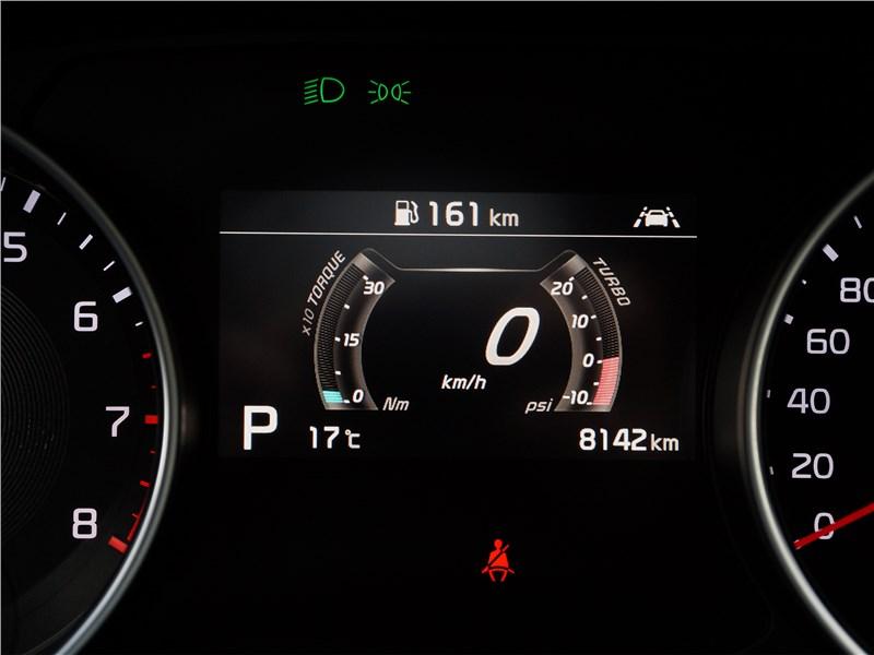 Kia ProCeed GT 2019 приборная панель