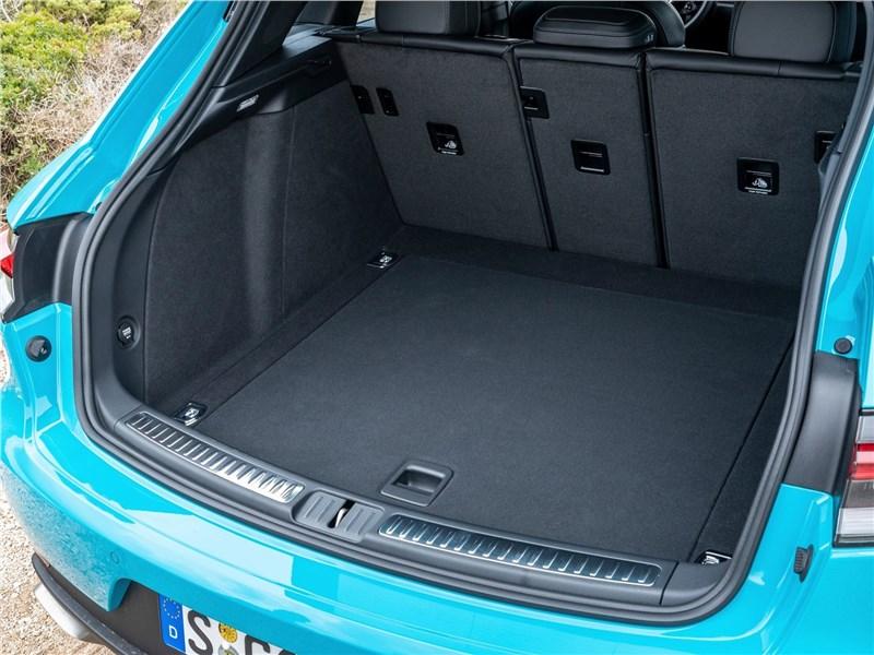 Porsche Macan 2019 багажное отделение