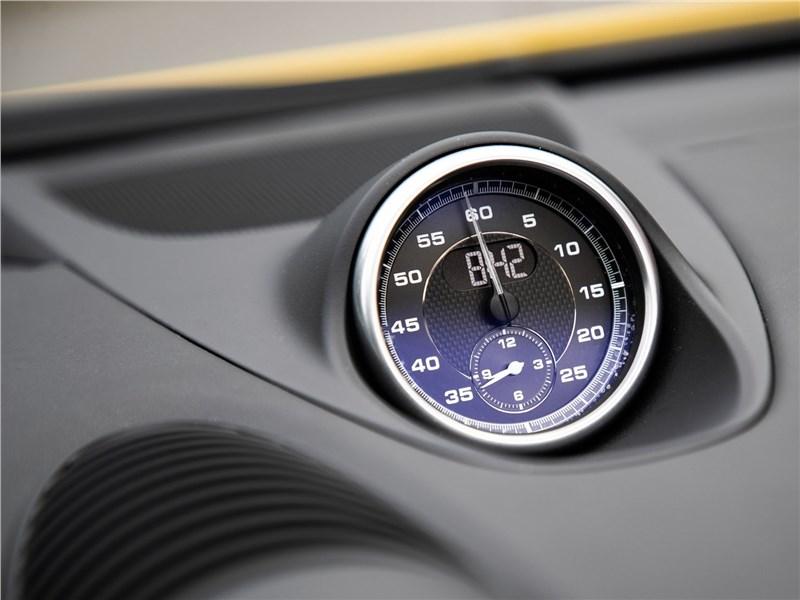 Porsche 718 Spyder 2020 часы