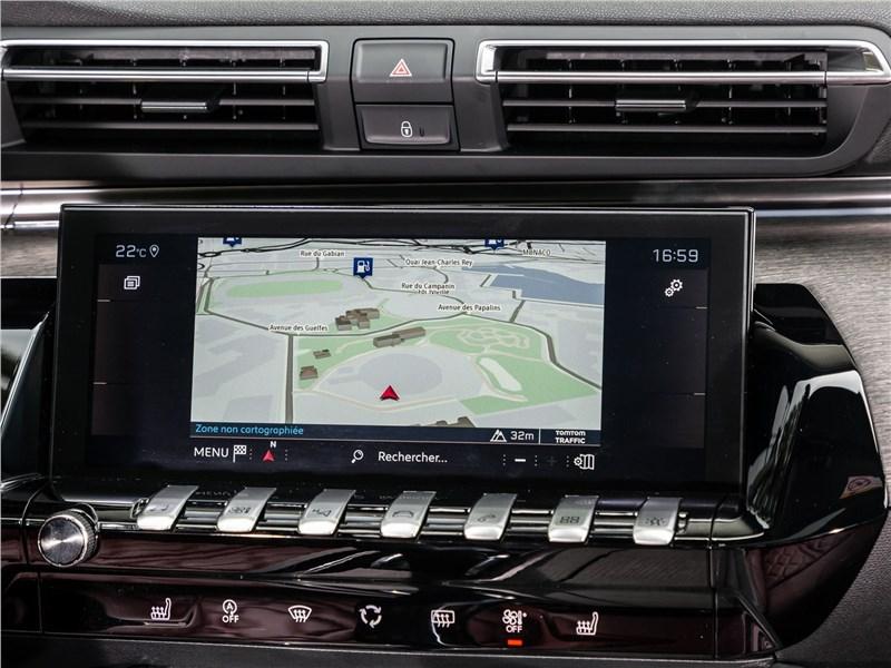Peugeot 508 2019 монитор
