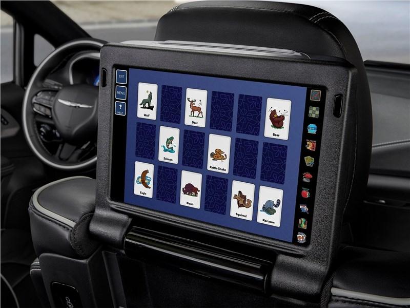 Chrysler Pacifica 2021 монитор для пассажиров