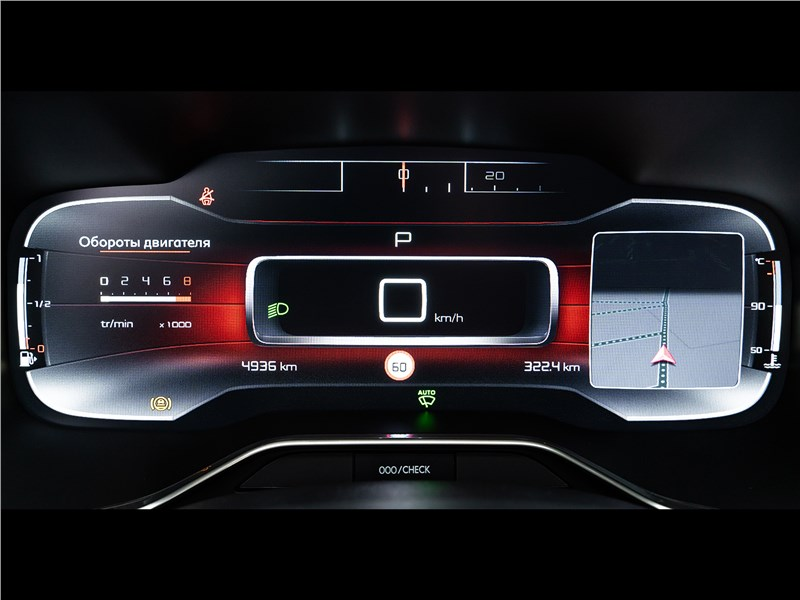 Citroen C5 Aircross Hybrid 2020 приборная панель
