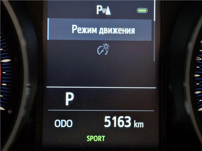 Toyota C-HR 2020 приборная панель