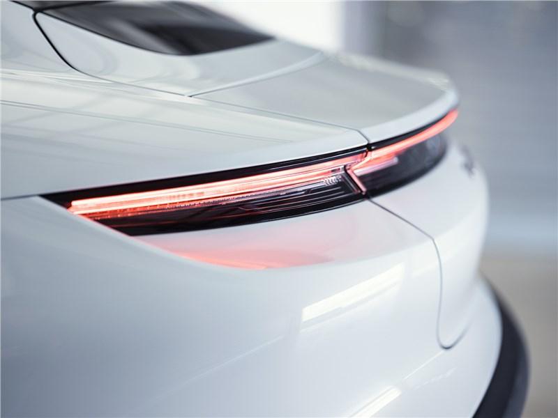 Porsche Taycan 2020 задние фонари