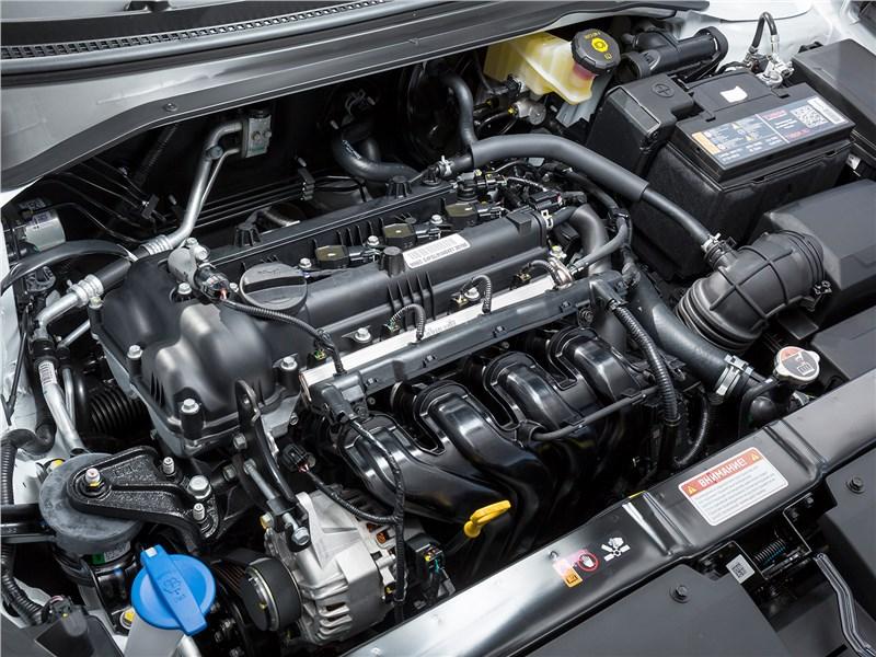 Kia Rio 2021 двигатель