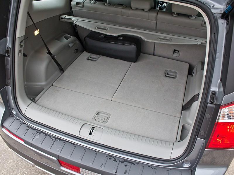 Chevrolet Orlando 2013 багажное отделение