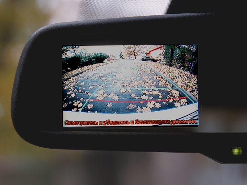 Lexus CT 200h 2011 дисплей камеры заднего вида