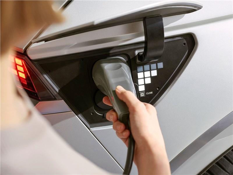 Hyundai Ioniq 5 (2022) зарядка