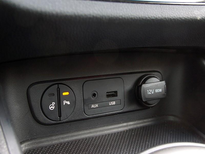как отключить парктроник на киа спортейдж 3