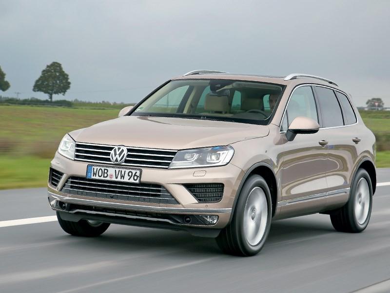 Volkswagen Touareg - volkswagen touareg 2014 положение обязывает