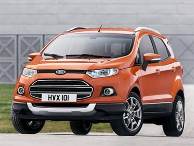 В Набережных Челнах стартовало производство кроссовера Ford EcoSport