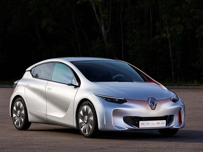 Новый Renault Eolab - Renault Eolab Concept 2014 Малоежка
