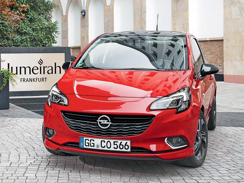 Opel Corsa 2015 Девушка с характером