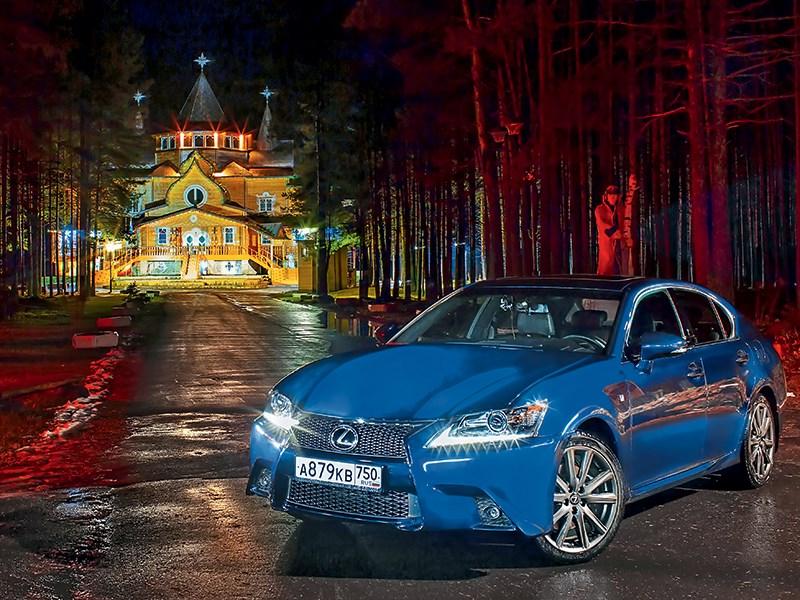 Lexus GS - великий устюг. в гостях у сказки.